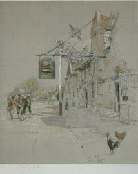 Cecil Aldin Prints The Bell at Stilton