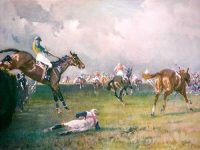 Gilbert Holiday Racing Prints The Grand National The Canal Turn