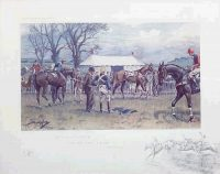Snaffles Racing prints Oh to be in England